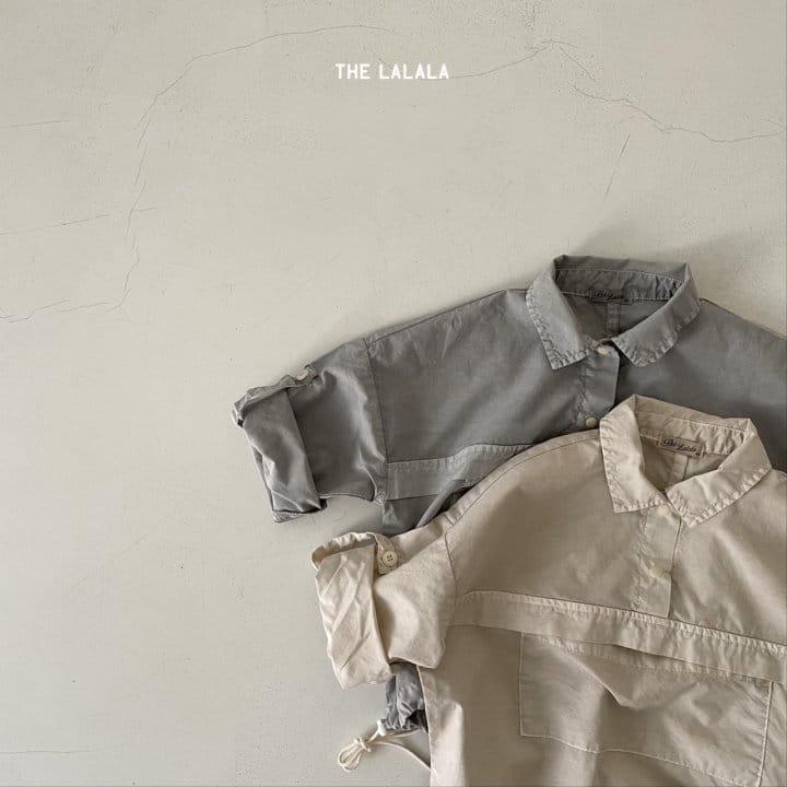 THE LALALA - Korean Children Fashion - #Kfashion4kids - Anorak Shorts Set - 8
