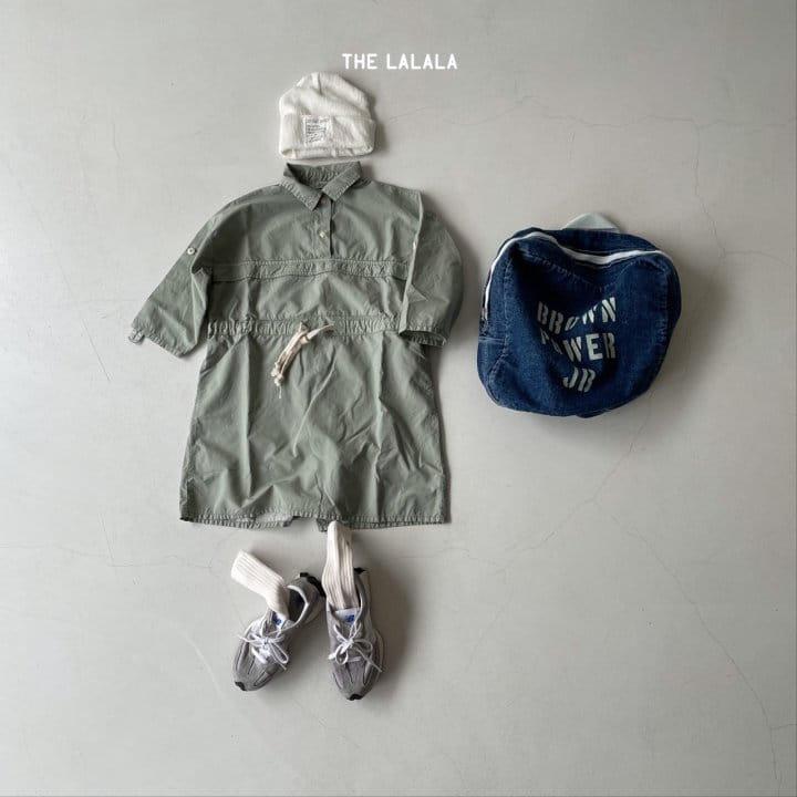THE LALALA - Korean Children Fashion - #Kfashion4kids - Anorak One-piece - 11