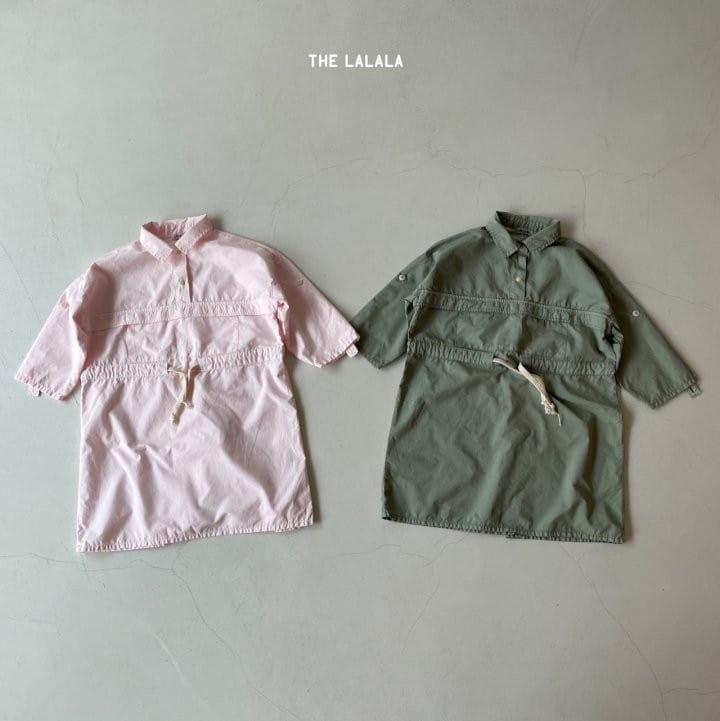 THE LALALA - Korean Children Fashion - #Kfashion4kids - Anorak One-piece - 3