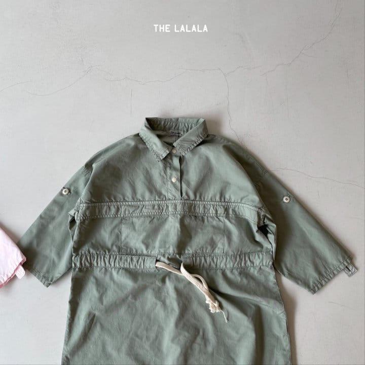 THE LALALA - Korean Children Fashion - #Kfashion4kids - Anorak One-piece - 6
