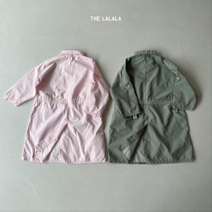 THE LALALA - Korean Children Fashion - #Kfashion4kids - Anorak One-piece - 7