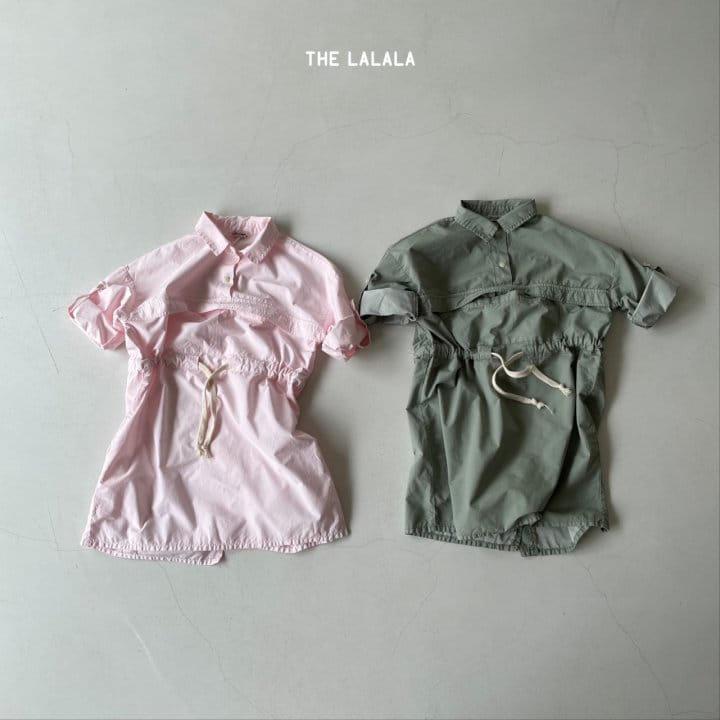 THE LALALA - Korean Children Fashion - #Kfashion4kids - Anorak One-piece - 8
