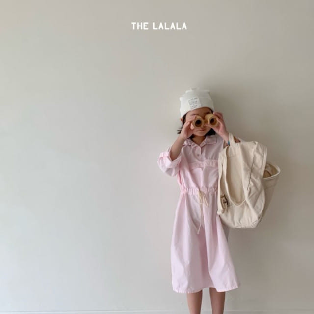 THE LALALA - BRAND - Korean Children Fashion - #Kfashion4kids - Anorak One-piece