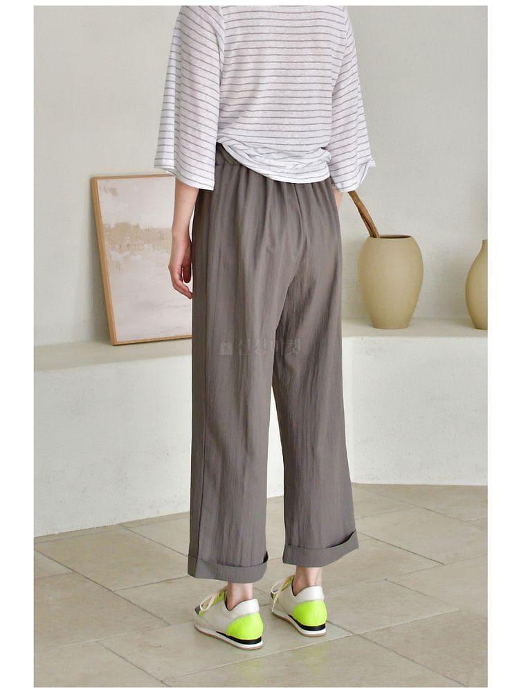 UERE - Korean Children Fashion - #Kfashion4kids - Band Pants - 2