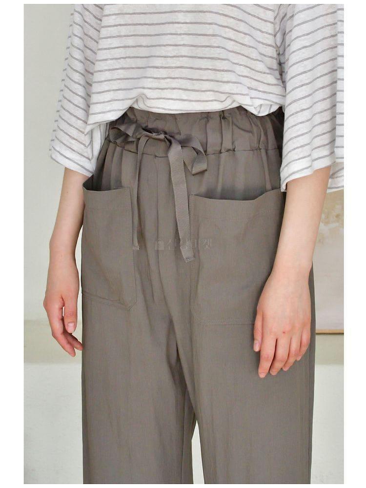 UERE - Korean Children Fashion - #Kfashion4kids - Band Pants - 3