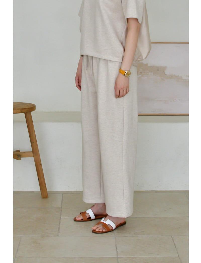 UERE - Korean Children Fashion - #Kfashion4kids - Colored Band Pants