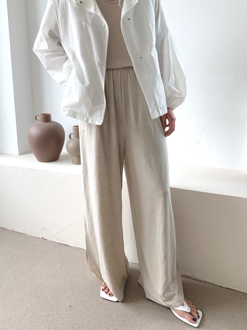 UERE - Korean Children Fashion - #Kfashion4kids - Linen Open Pants