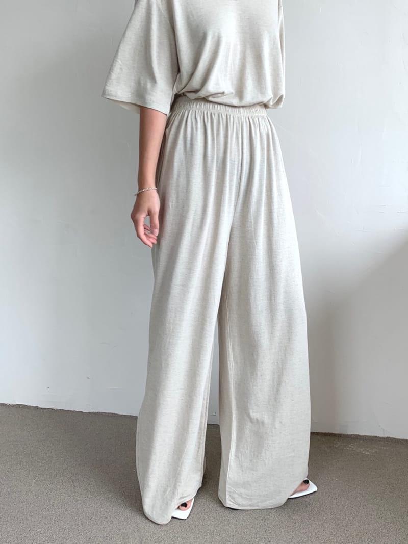UERE - Korean Children Fashion - #Kfashion4kids - Linen Open Pants - 2