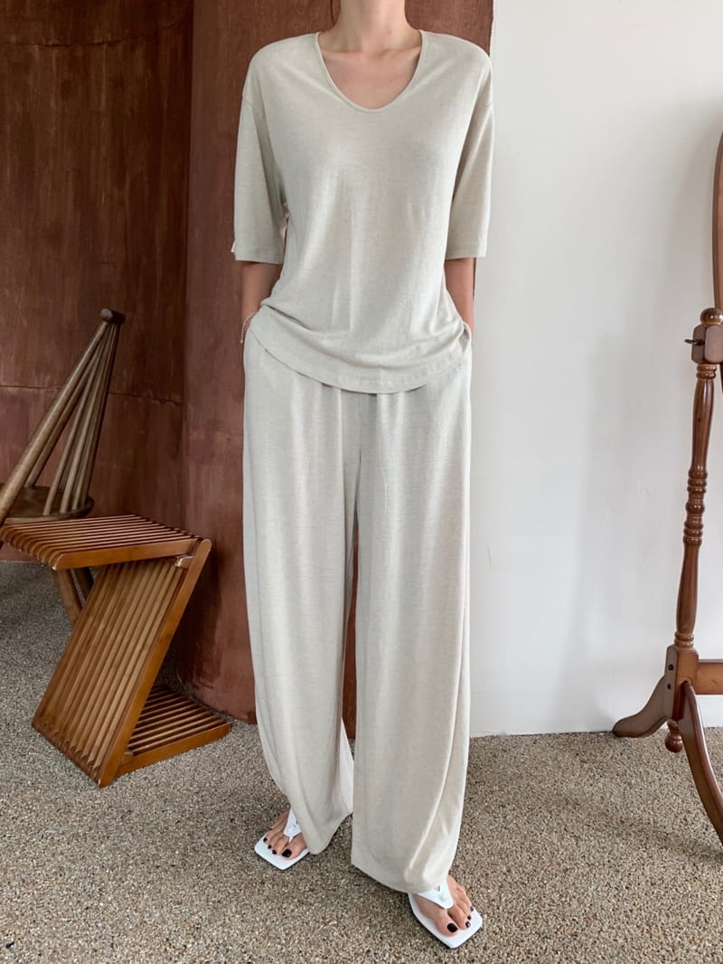 UERE - BRAND - Korean Children Fashion - #Kfashion4kids - Linen Open Pants