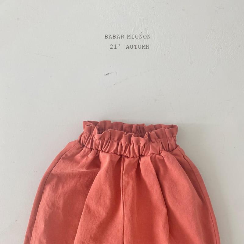 BABAR MIGNON - Korean Children Fashion - #Kfashion4kids - Sausage Pants - 10