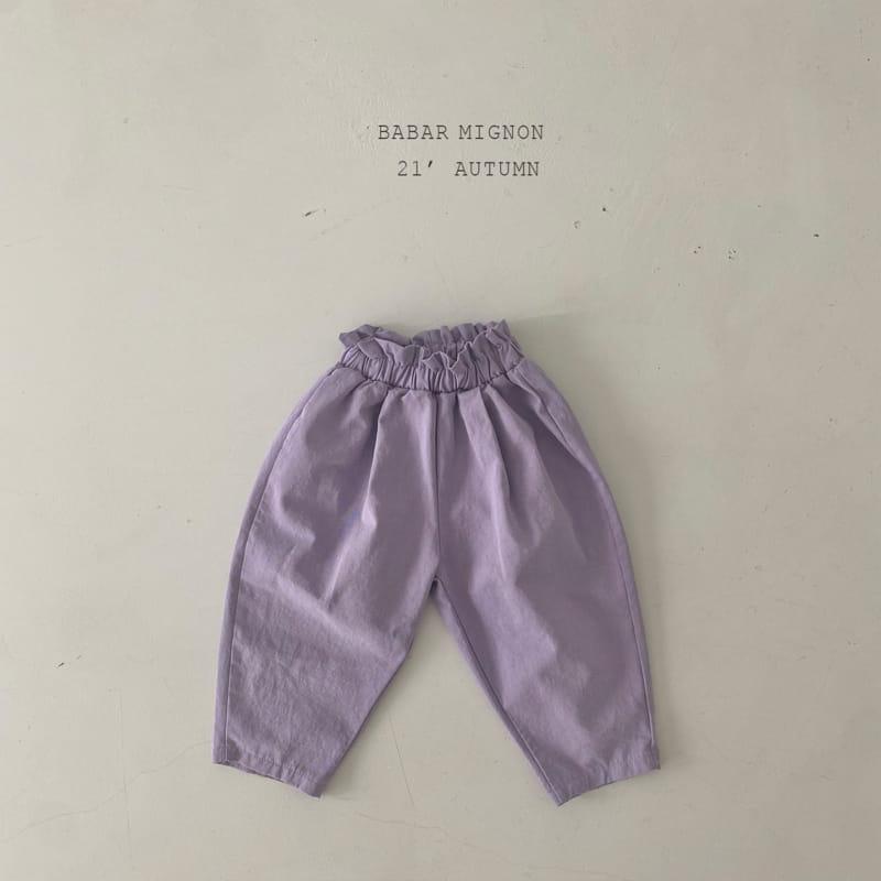 BABAR MIGNON - Korean Children Fashion - #Kfashion4kids - Sausage Pants - 11