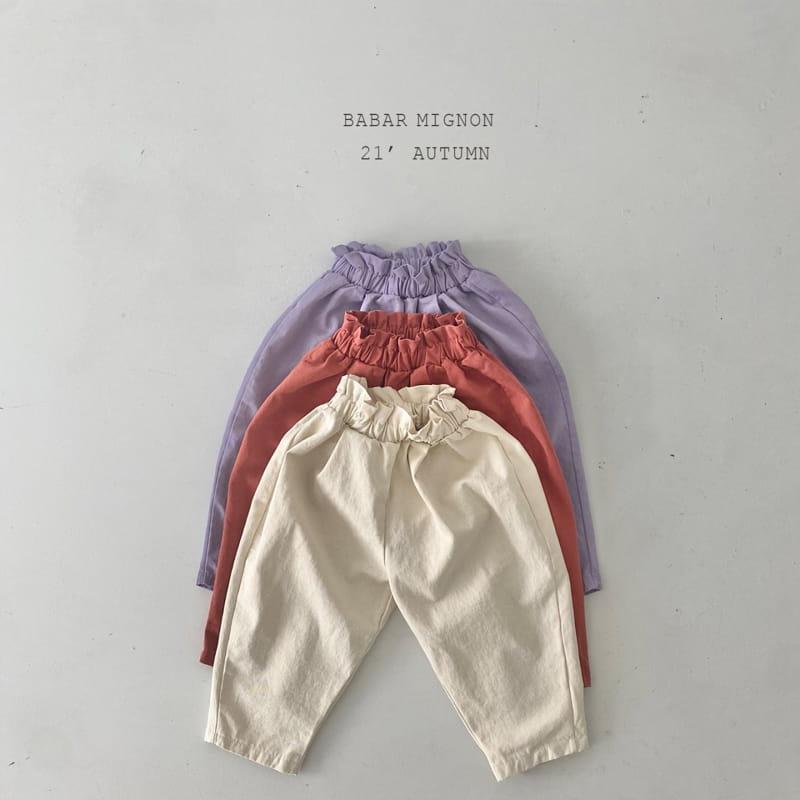 BABAR MIGNON - Korean Children Fashion - #Kfashion4kids - Sausage Pants - 2