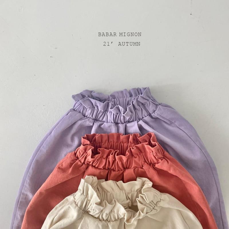 BABAR MIGNON - Korean Children Fashion - #Kfashion4kids - Sausage Pants - 4