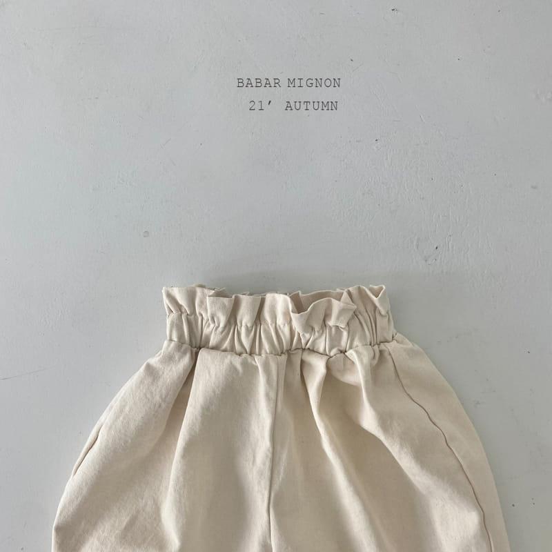 BABAR MIGNON - Korean Children Fashion - #Kfashion4kids - Sausage Pants - 7