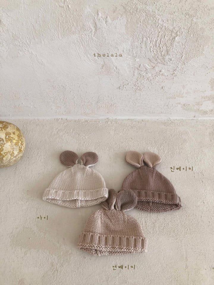 LALA - Korean Children Fashion - #Kfashion4kids - Rabbit Knit Bonnet - 11