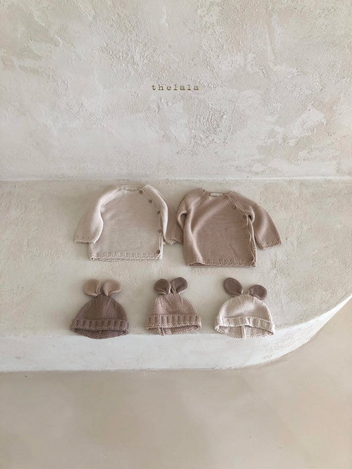 LALA - Korean Children Fashion - #Kfashion4kids - Rabbit Knit Bonnet - 12