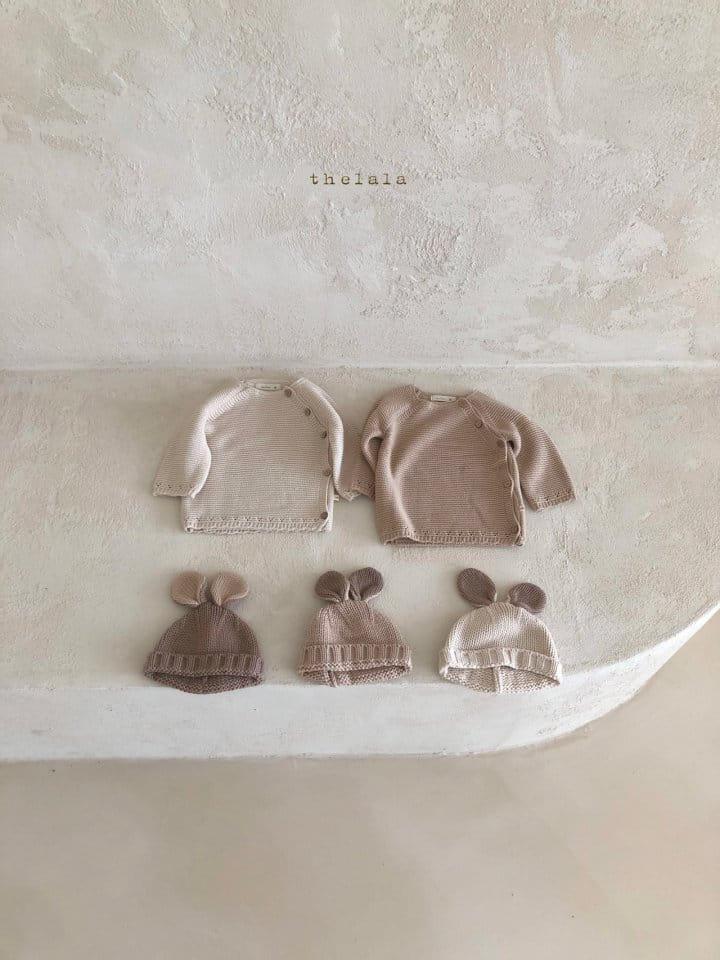 LALA - Korean Children Fashion - #Kfashion4kids - Rabbit Knit Bonnet - 2