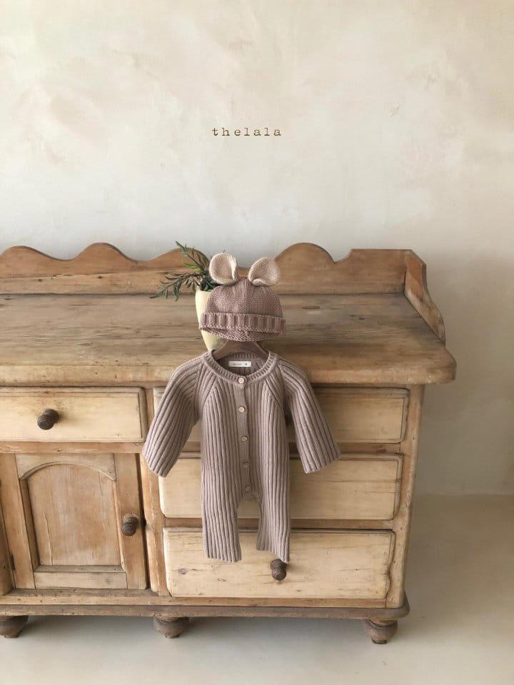 LALA - Korean Children Fashion - #Kfashion4kids - Rabbit Knit Bonnet - 4