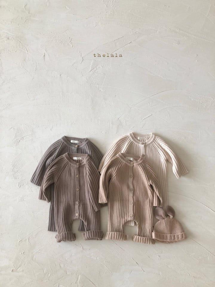 LALA - Korean Children Fashion - #Kfashion4kids - Rabbit Knit Bonnet - 5