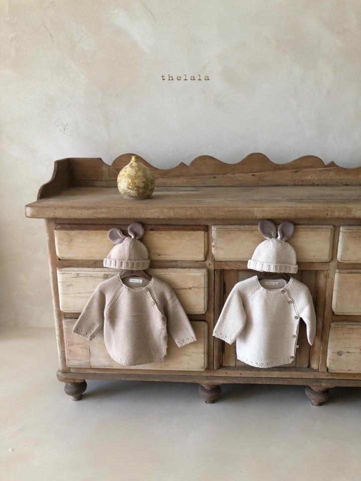LALA - Korean Children Fashion - #Kfashion4kids - Rabbit Knit Bonnet - 6