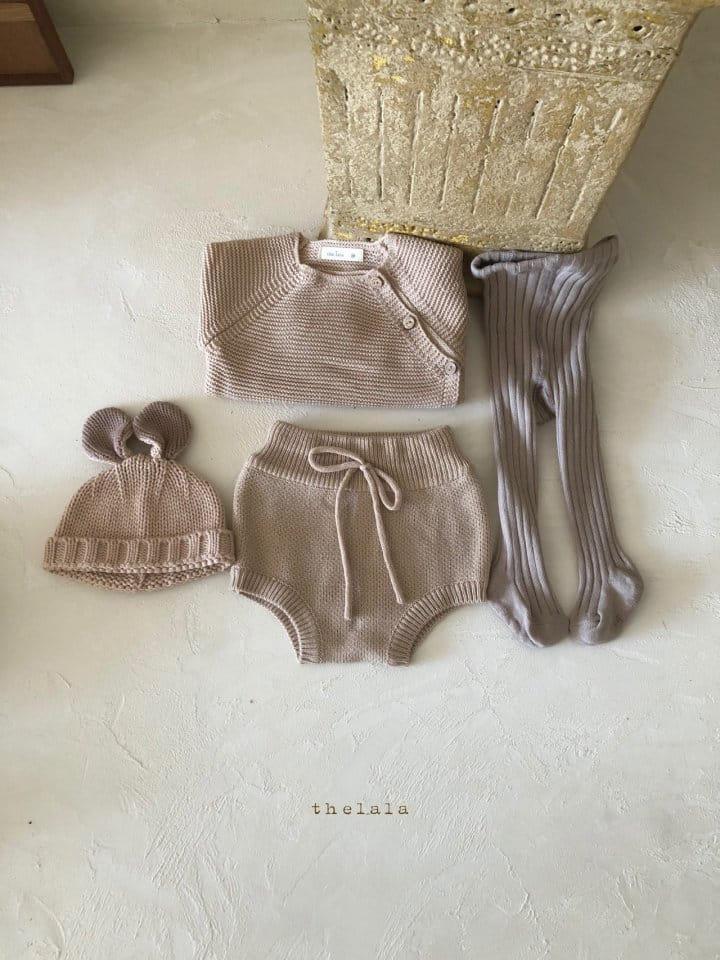 LALA - Korean Children Fashion - #Kfashion4kids - Rabbit Knit Bonnet - 7