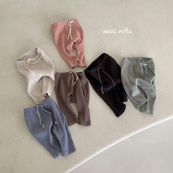 MINI ROBE - Korean Children Fashion - #Kfashion4kids - Daily Leggings - 3