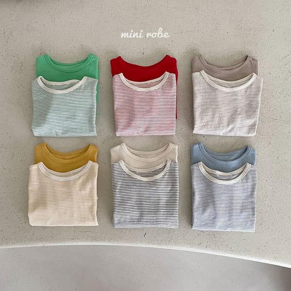 MINI ROBE - Korean Children Fashion - #Kfashion4kids - 1+1 Tee