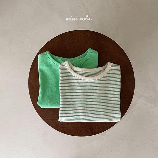 MINI ROBE - Korean Children Fashion - #Kfashion4kids - 1+1 Tee - 3