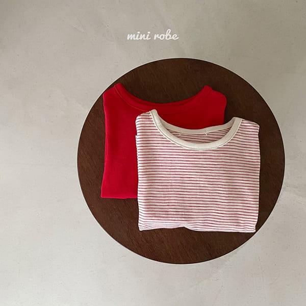 MINI ROBE - Korean Children Fashion - #Kfashion4kids - 1+1 Tee - 4