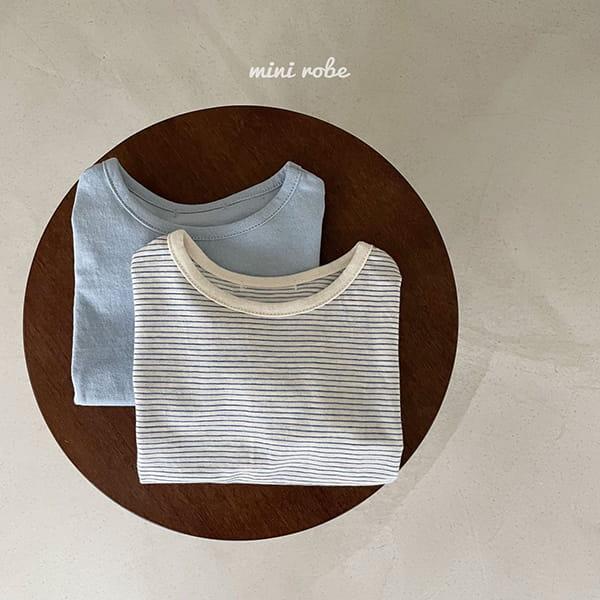 MINI ROBE - Korean Children Fashion - #Kfashion4kids - 1+1 Tee - 5