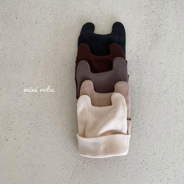 MINI ROBE - BRAND - Korean Children Fashion - #Kfashion4kids - Rabit Beanie