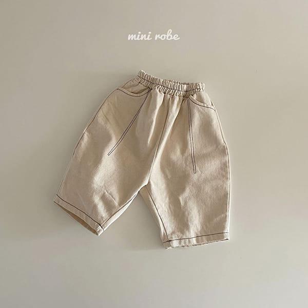 MINI ROBE - Korean Children Fashion - #Kfashion4kids - Stitch Pants - 5