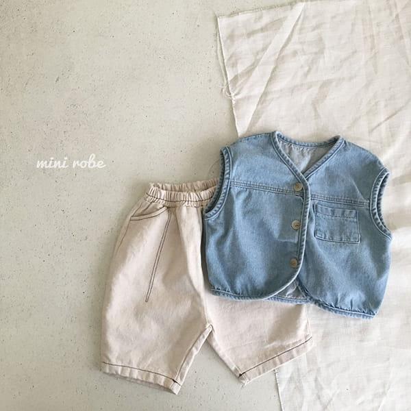 MINI ROBE - Korean Children Fashion - #Kfashion4kids - Stitch Pants - 9