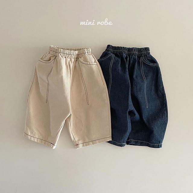 MINI ROBE - BRAND - Korean Children Fashion - #Kfashion4kids - Stitch Pants