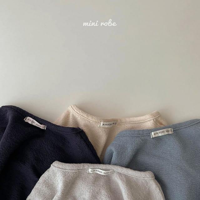 MINI ROBE - BRAND - Korean Children Fashion - #Kfashion4kids - Wendy Tee