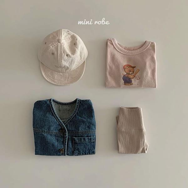 MINI ROBE - Korean Children Fashion - #Kfashion4kids - Denimn Vest Outer - 9