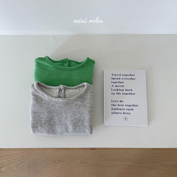 MINI ROBE - Korean Children Fashion - #Kfashion4kids - Cloud Sweatshirt - 12