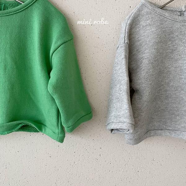 MINI ROBE - Korean Children Fashion - #Kfashion4kids - Cloud Sweatshirt - 3