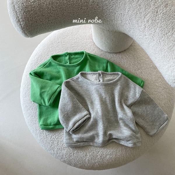 MINI ROBE - Korean Children Fashion - #Kfashion4kids - Cloud Sweatshirt - 4