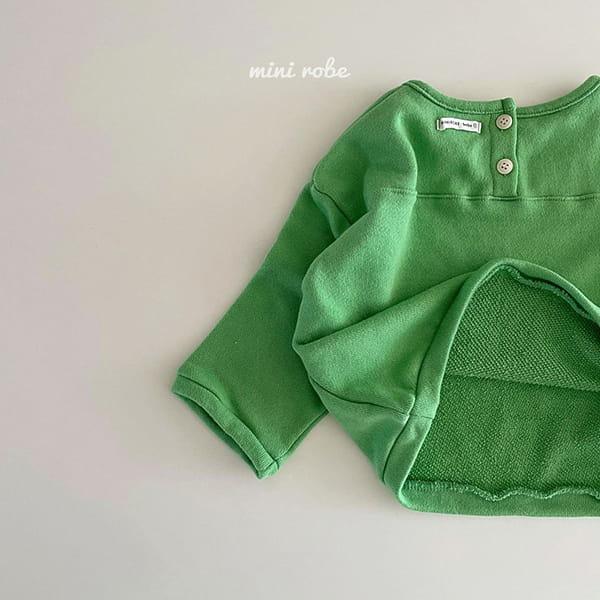 MINI ROBE - Korean Children Fashion - #Kfashion4kids - Cloud Sweatshirt - 6
