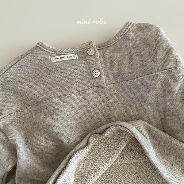 MINI ROBE - Korean Children Fashion - #Kfashion4kids - Cloud Sweatshirt - 7