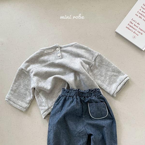 MINI ROBE - Korean Children Fashion - #Kfashion4kids - Cloud Sweatshirt - 9