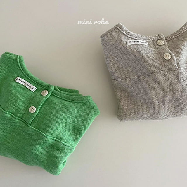 MINI ROBE - BRAND - Korean Children Fashion - #Kfashion4kids - Cloud Sweatshirt