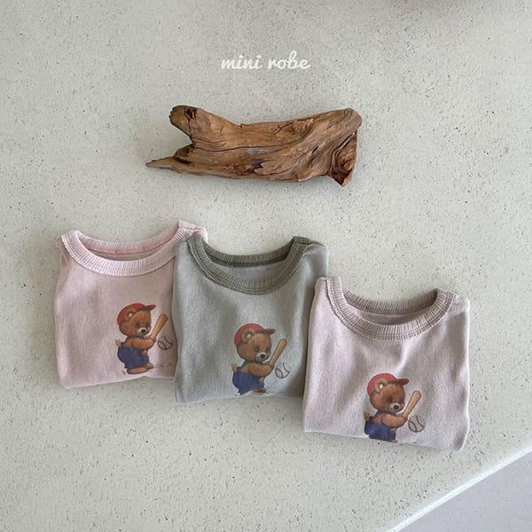MINI ROBE - Korean Children Fashion - #Kfashion4kids - Bear Bear Tee - 11