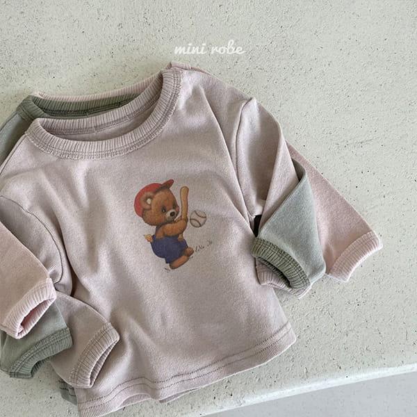 MINI ROBE - Korean Children Fashion - #Kfashion4kids - Bear Bear Tee - 4