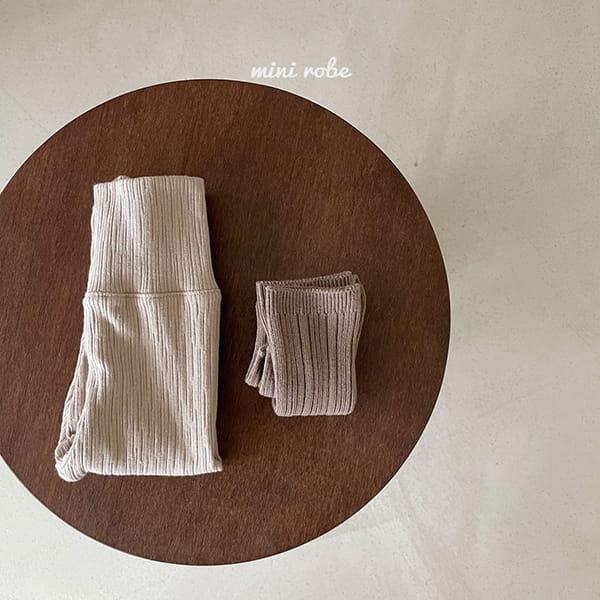 MINI ROBE - Korean Children Fashion - #Kfashion4kids - Cozy Leggings - 4
