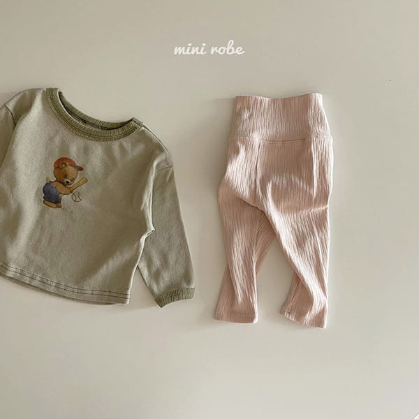 MINI ROBE - Korean Children Fashion - #Kfashion4kids - Cozy Leggings - 9
