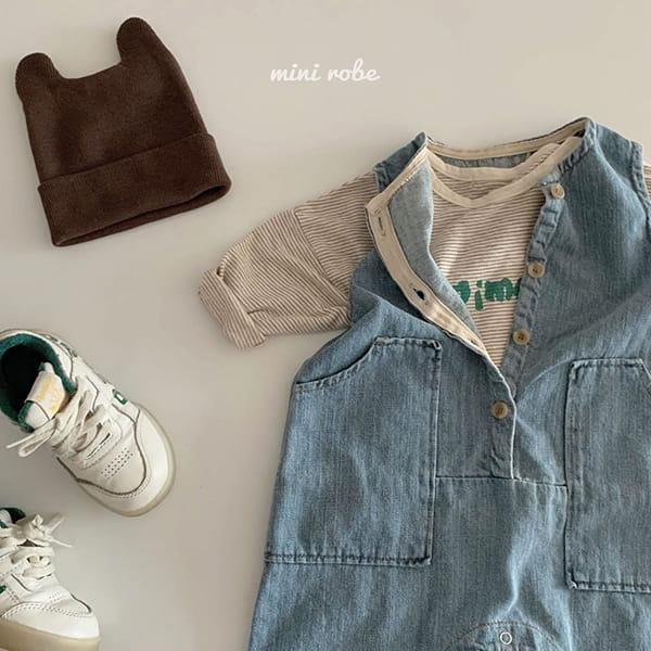 MINI ROBE - Korean Children Fashion - #Kfashion4kids - Animal Tee - 10