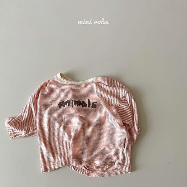 MINI ROBE - Korean Children Fashion - #Kfashion4kids - Animal Tee - 7