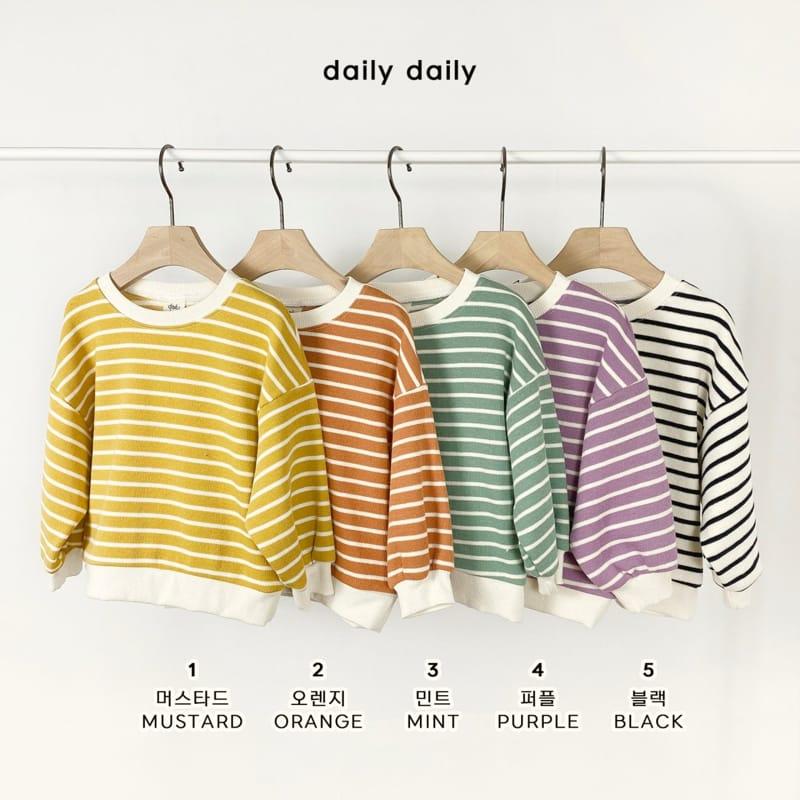 DAILY DAILY - Korean Children Fashion - #Kfashion4kids - From Now To Spring Sweatshirt